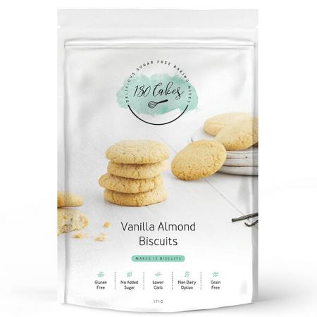 180 Cakes Vanilla Almond Biscuits