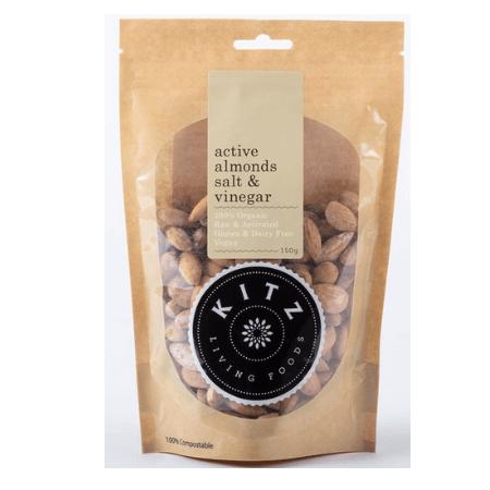 Kitz Active Almonds Salt & Vinegar