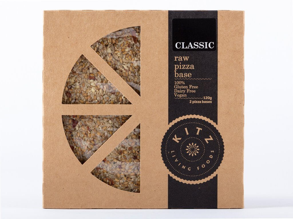 Kitz Living Foods Classic Raw Pizza Base
