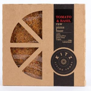 Kitz Living Foods Tomato & Basil Raw Pizza Base