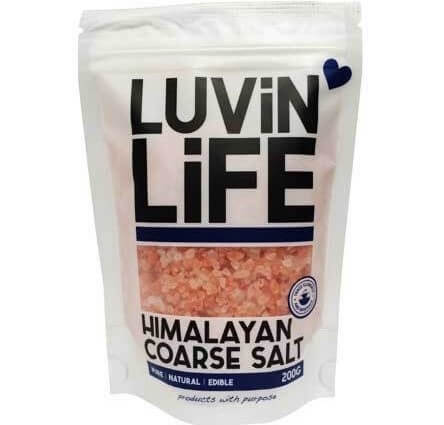 Luvin Life Hmalayan Salt - Coarse - 500g