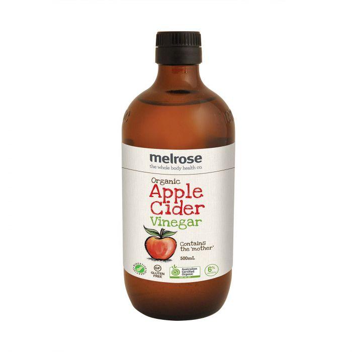 Melrose Organic Apple Cider Vinegar 500ml