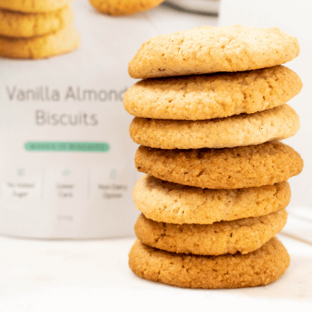 180 Cakes Vanilla Almond Biscuits