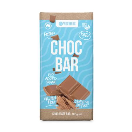 Vitawerx Choc Bar Block 100g