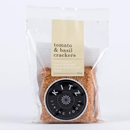 KITZ Tomato & Basil Crackers