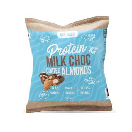Vitawerx Protein Milk Choc Coated Almonds