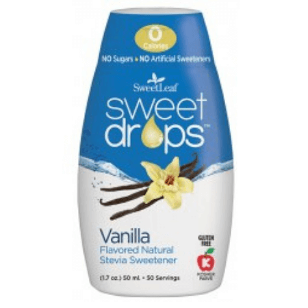 SweetLeaf Liquid Stevia Drops - Vanilla Creme