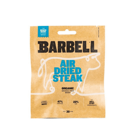 BARBELL AIR DRIED STREAK THE BENCHMARK 30G