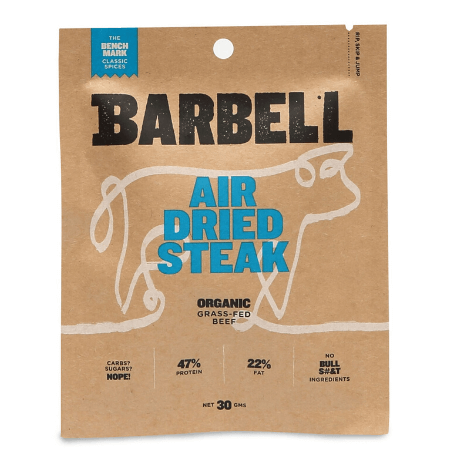 Barbell Air Dried Steak The Benchmark 30g