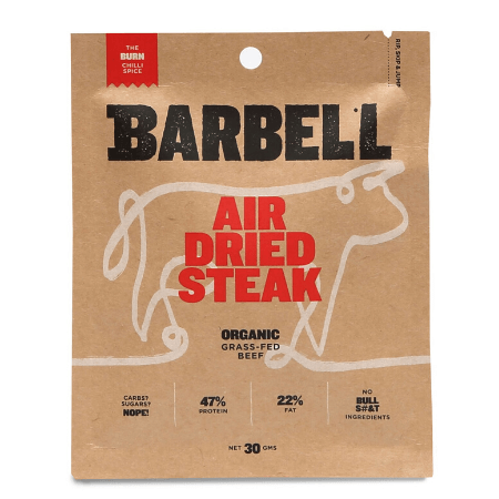Barbell Air Dried Steak The Burn 30g