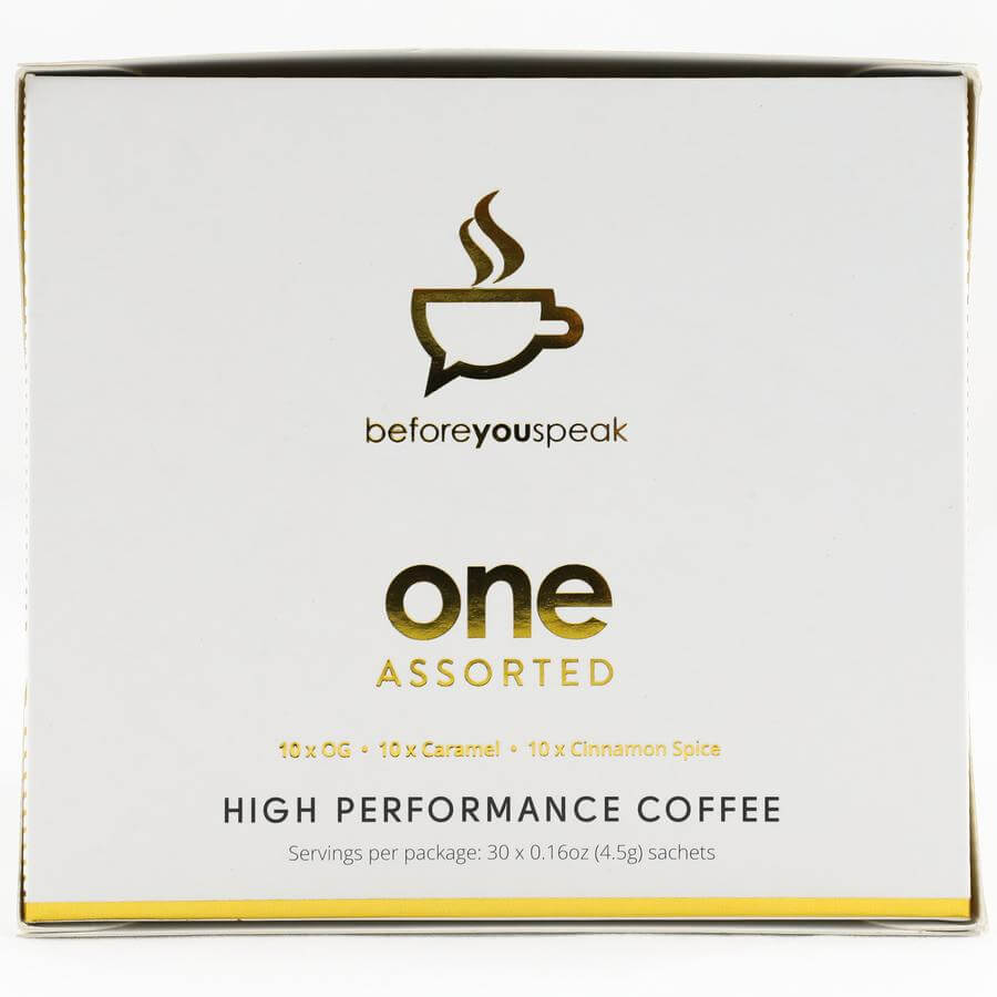 Before You Speak - Performance Coffee - Assorted..