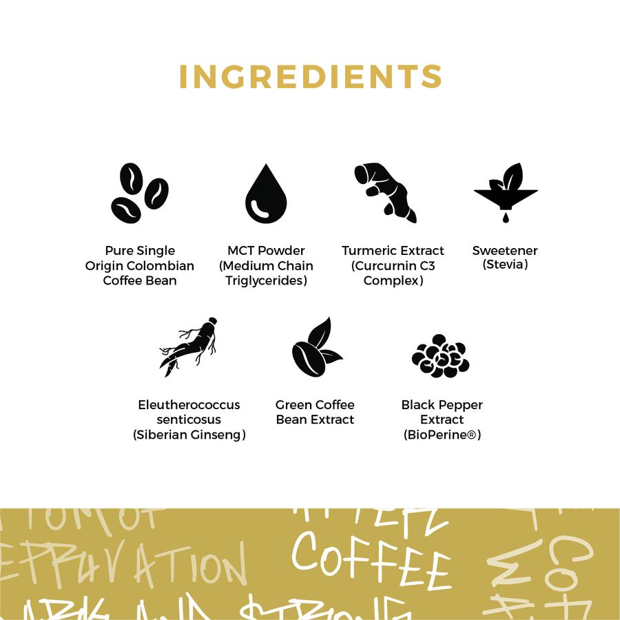 Before You Speak - Performance Coffee - Original Ingredients