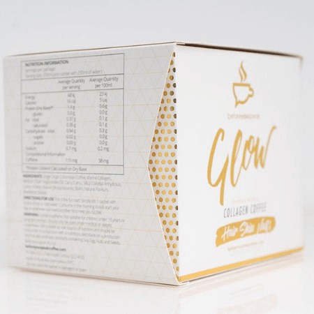 Before You Speak Glow Coffee with Collagen