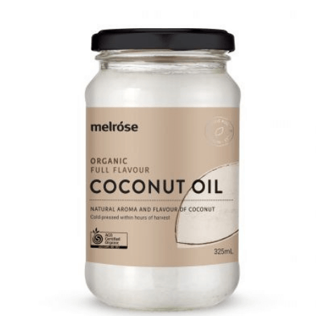 Melrose Cococnut Oil Full Flavour 325 ml.