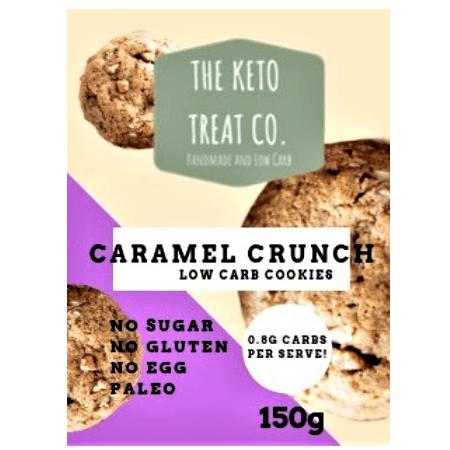 Caramel Crunch Keto Cookies - The Keto Treat Co.