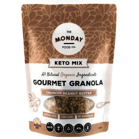 Keto Crunchy Peanut Butter Granola