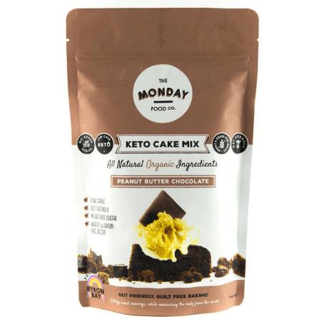 Keto Peanut Butter Chocolate Cake Mix