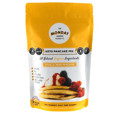 Keto Vanilla Bean Pancakes Mix