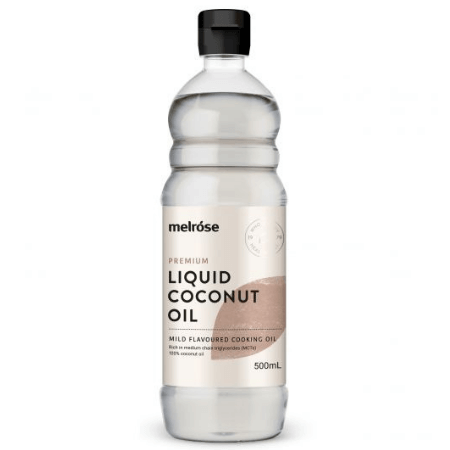 Premium Liquid Coconut Oil 500ml - Melrose