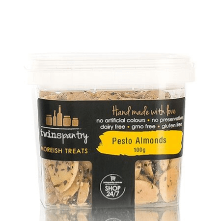 Pesto Almonds 100g Twins Pantry
