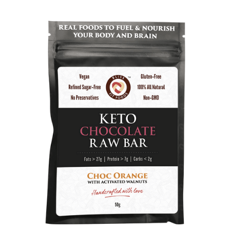 Keto Choc Orange Raw Bar