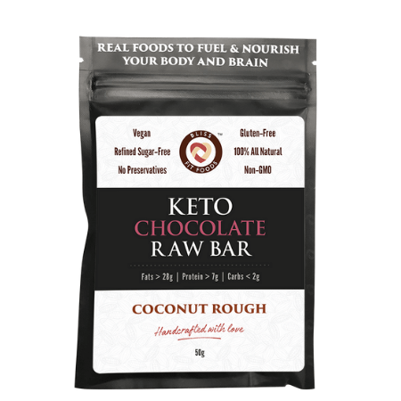 Keto Raw Bar - Choc Coconut Rough