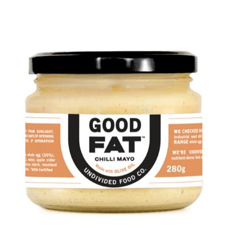 Good Fat Chilli Mayo - Undivided Food Co.