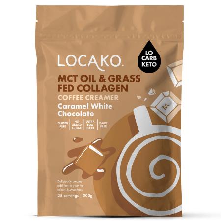 Locako Caramel White Choc Coffee Creamer