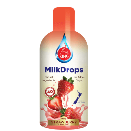 Vitalzing Milk Drops Strawberry