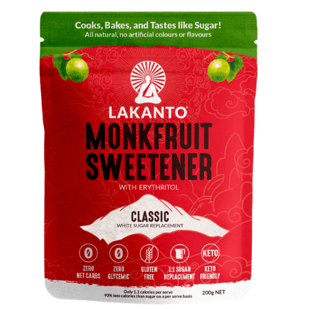 Lakanto MonkFruit Sweetener Classic 200g