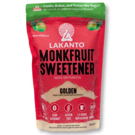 Lakanto MonkFruit Sweetener Golen 500g