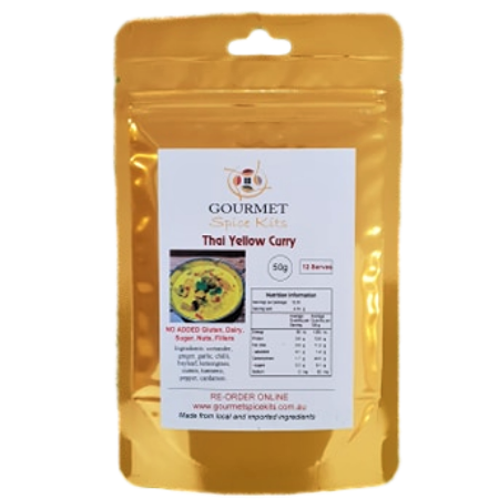 Spice Kits Thai Yellow Curry