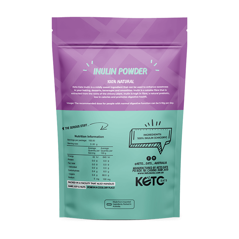 Keto Eats Inulin Powder