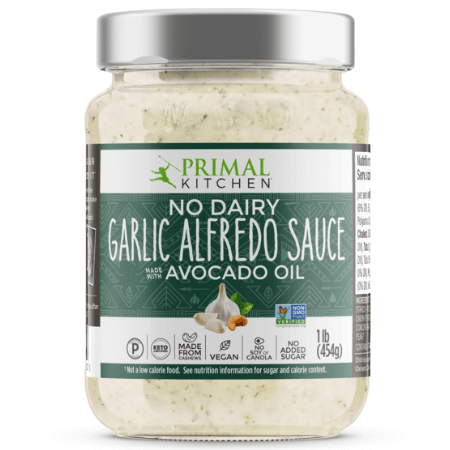 Garlic Alfredo Sauce - Primal Kitchen