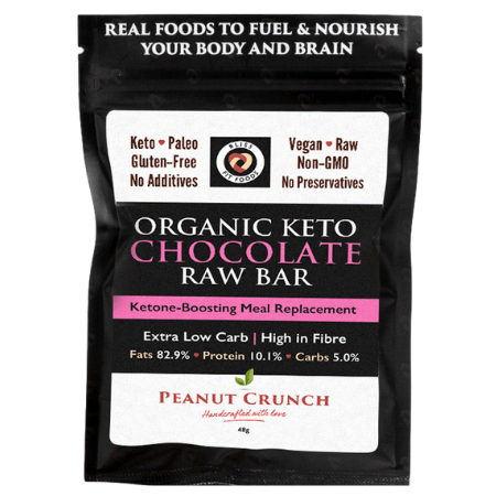 Organic Chocolate Raw Bar Peanut Butter Crunch