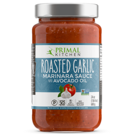 Roasted Garlic Marinara Sauce