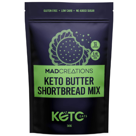 Mad Creations Keto Butter Shortbread