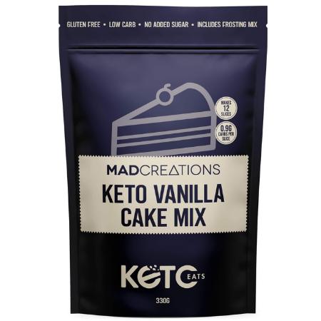 Mad Creations Keto Vanilla Cake Mix