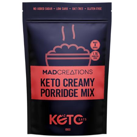 Mad Creations Keto Creamy Porridge Mix